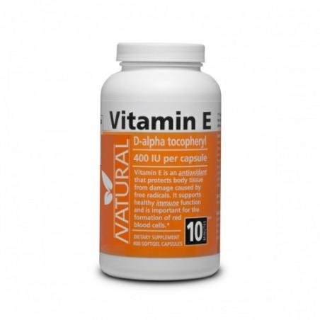 Vitamín E 400 IU prírodný, 400 kapsúl
