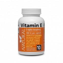Vitamín E 400 IU prírodný, 100 kapsúl