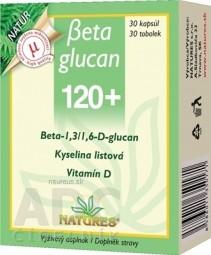 NATURES Betaglucan 120+ cps 1x30 ks