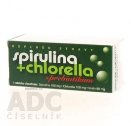 NATURVITA SPIRULINA + CHLORELLA + inulín