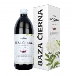 BAZA ČIERNA (100 % šťava z bazy čiernej s prídavkom vitamínu C 500 ml)