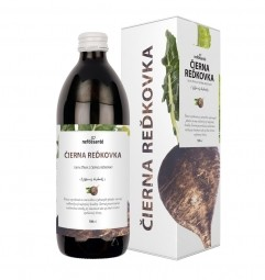 ČIERNA REĎKOVKA (100 % šťava z čiernej reďkovky s prídavkom vitamínu C 500 ml)