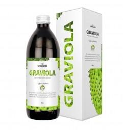 GRAVIOLA (100 % pyré z gravioly s prídavkom vitamínu C 500 ml)