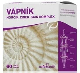 VÁPNIK HORČÍK ZINOK SKIN KOMPLEX (tbl 6x10 (60 ks))