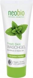 AKCIA - bez vrchnáčika: NEOBIO umývací gél na tvár Fresh