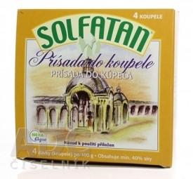 SOLFATAN prísada do kúpeľa v prášku 4x100 g (400 g)