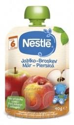 Nestlé Jablko Broskyňa kapsička, ovocná desiata (od ukonč. 6. mesiaca) 1x90 g