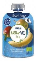 Nestlé NaturNes BIO Hruška Jablko Banán kapsička, ovocná desiata (od ukončeného 6. mesiaca) 1x90 g