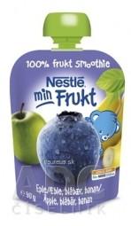Nestlé min Frukt Čučoriedka Jablko Banán