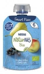 Nestlé NaturNes BIO Hruška Jablko Čierne ríbezle kapsička, ovocná desiata (od ukonč. 6. mesiaca) 1x90 g