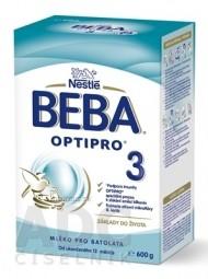 BEBA OPTIPRO 3 (modrá, inov. 2019) mliečna výživa (od ukonč. 12.mesiaca) 1x600 g