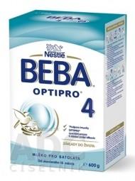 BEBA OPTIPRO 4 (modrá, inov. 2019) mliečna výživa (od ukonč. 18.mesiaca) 1x600 g