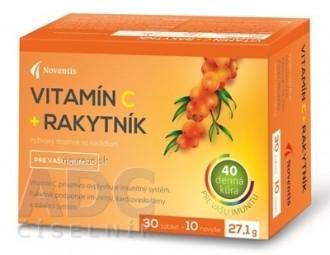 Noventis Vitamín C + Rakytník
