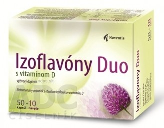 Noventis Izoflavóny Duo s vitamínom D