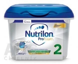 Nutrilon 2 ProFutura Nová následná mliečna dojčenská výživa v prášku (6-12 mesiacov) (inov.2019) 1x800 g