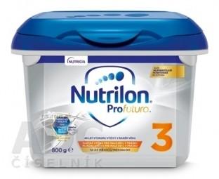 Nutrilon 3 ProFutura Nová batoľacia mliečna výživa v prášku (od 12-24 mesiacov) (inov.2019) 1x800 g