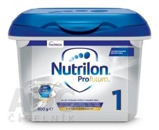 Nutrilon 1 ProFutura Nová počiatočná dojčenská mliečna výživa v prášku (0-6 mesiacov) (inov.2019) 1x800 g
