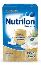 Nutrilon Pronutra prvá obilno-mliečna kaša ryžová