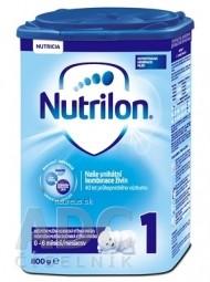 Nutrilon 1 počiatočná mliečna dojčenská výživa v prášku (0-6 mesiacov) (inov.2018) 1x800 g