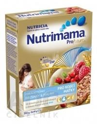 Nutrimama Profutura cereálne tyčinky Brusnice & Maliny (pre kojacie matky) 5x40 g (200 g)