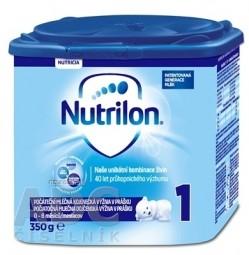 Nutrilon 1 počiatočná mliečna dojčenská výživa v prášku (0-6 mesiacov) (inov.2018) 1x350 g