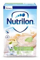 Nutrilon obilno-mliečna kaša 7 cereálií s ovocím (od ukonč. 8. mesiaca), 1x225 g