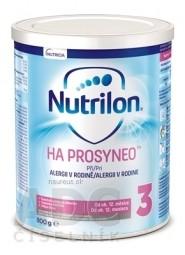 Nutrilon 3 HA PROSYNEO mliečna výživa v prášku (od ukonč. 12. mesiaca) (inov.2019) 1x800 g
