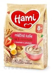Hami mliečna kaša so 7 obilninami s banánom a jahodami (od ukonč. 8. mesiaca) 1x210 g