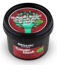 Prírodná tonizačná maska na tvár - Tomato blush