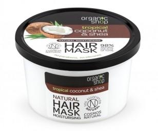 Organic Shop - Kokos & Maslovník - Maska na vlasy 250 ml