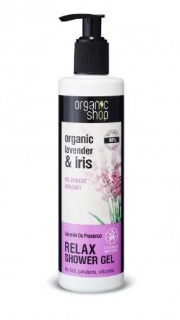 Organic Shop - Levanduľa - Sprchový gél 280 ml