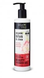 Organic Shop - Jedinečná hebkosť - Sprchový gél 280 ml