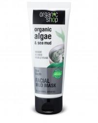 Organic Shop - Bahenná maska na tvár 75 ml