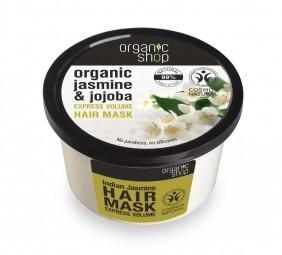 Organic Shop - Indický jasmín - Maska na vlasy 250 ml