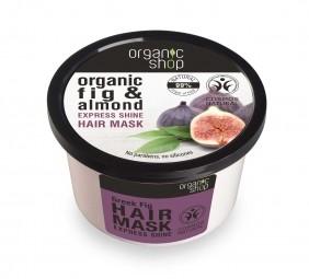 Organic Shop - Figa a Mandľa - Maska na vlasy 250 ml