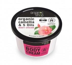 Organic Shop - Japonská kamélia - Telový krém 250 ml