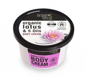 Organic Shop - Indický lotos - telový krém 250 ml