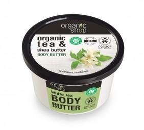 Organic Shop - Telové maslo Biely čaj 250 ml