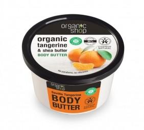 Organic Shop - Telové maslo Sevillská mandarinka 250 ml