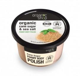 Organic Shop - Kúpeľový cukrový peeling s morskou soľou