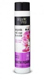 Organic Shop  - Šalvia a orchidea - Protistresová pena do kúpeľa 500 ml