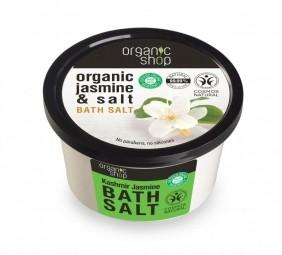 Organic Shop - Jazmín - Soľ do kúpeľa 250 ml