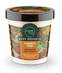 Organic Shop - Mandľa & Med - Výživná telová pena