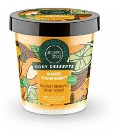 Organic Shop - Mangový cukrový sorbet - Telový peeling 450ml