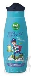 Bupi KIDS Šampón a sprchový gél modrý 1x250 ml