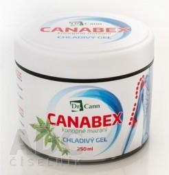 Dr.Cann CANABEX konopné mazanie CHLADIVÝ GÉL