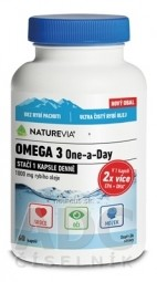 SWISS NATUREVIA OMEGA 3 One-a-Day 1000 mg cps 1x60 ks