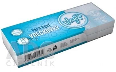 Papierové vreckovky Verytis Blue
