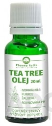 Pharma Activ TEA TREE OLEJ kvapky 1x20 ml