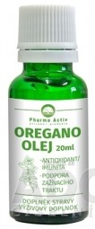 Pharma Activ OREGANO OLEJ kvapky 1x20 ml